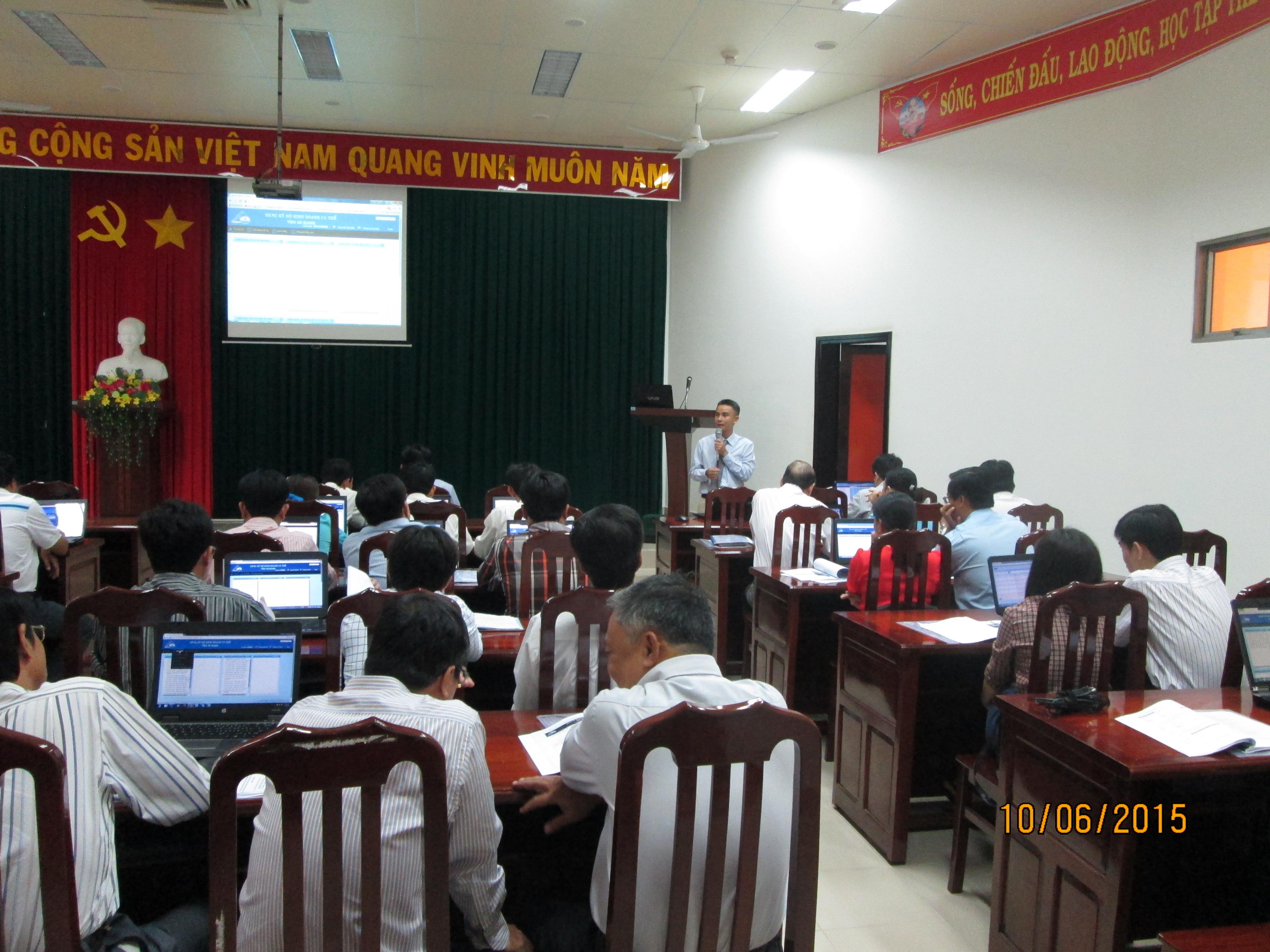Tập huấn Hô kinh doanh tỉnh An Giang