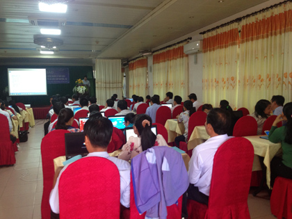 Triển khai phần mềm Lập kế hoạch kinh tế xã hội tỉnh Bến Tre
