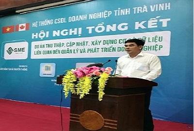 Hội nghị tổng kết Cổng thông tin doanh nghiệp tỉnh Trà Vinh